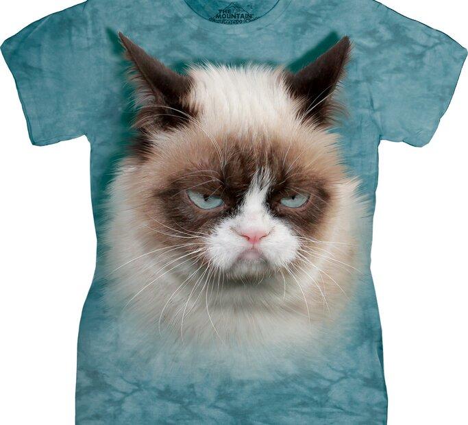 Dámské triko Grumpy cat