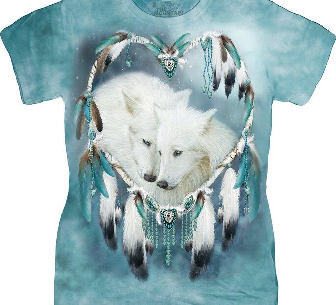 Dámské tričko Vlčí láska
