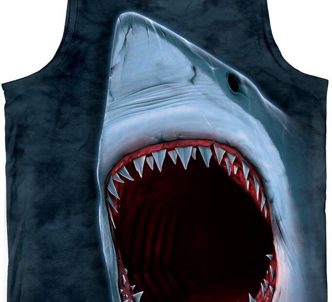 Cápa fogak trikó