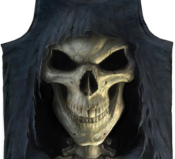 Big Face Death  Unisex
