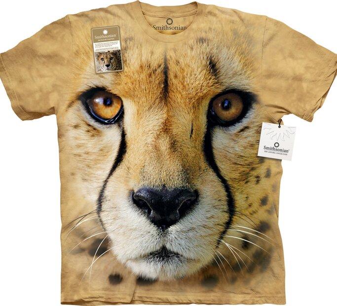 T-Shirt Gesicht Gepard