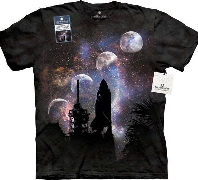 T-Shirt Raumschiff Start