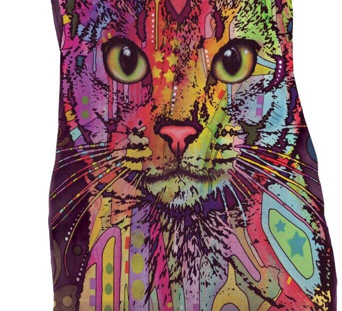 Minikleid Abessinische Katze