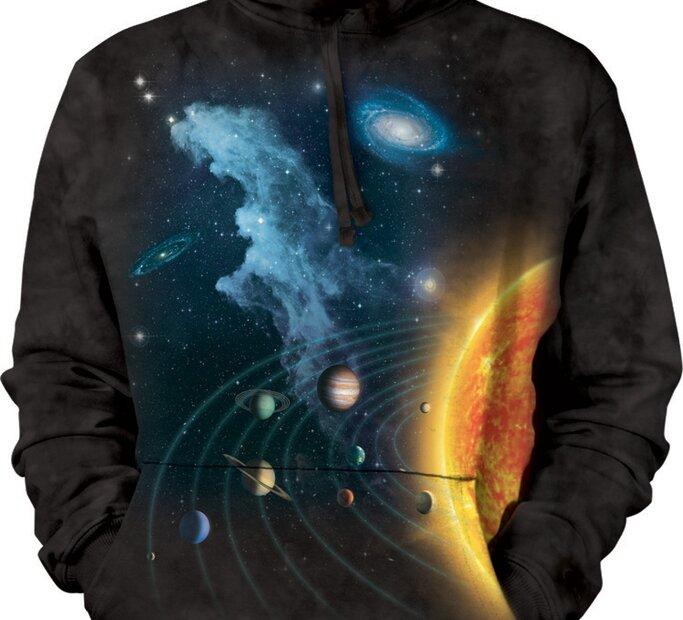 Kapucnis pulóver Naprendszer