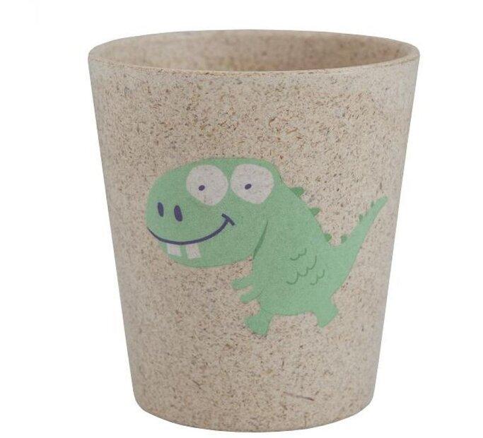 Ekologický hrneček na zubní kartáčky - Dino