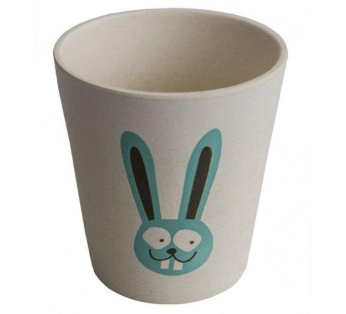 Ekologický pohárik na zubné kefky - Zajačik
