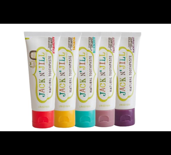Jack N Jill ´ přírodní zubní pasta Borůvka