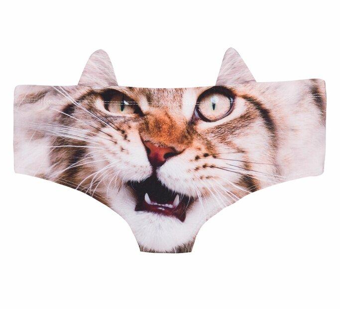 Dámske nohavičky Mačacia tvár