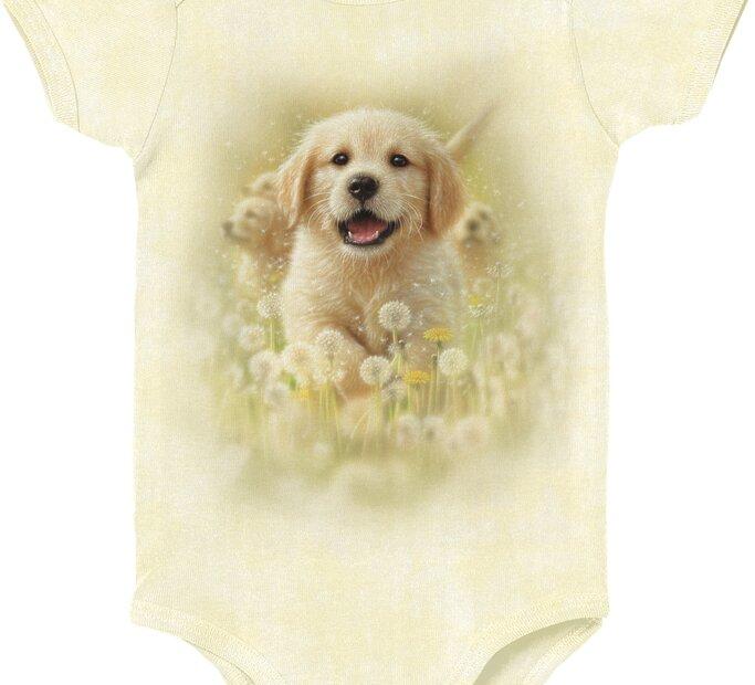 Golden Puppy Pet Babygrow