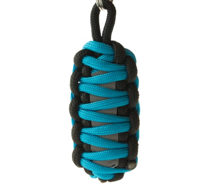 Reflexný paracord prívesok prežitia King Cobra - modrý