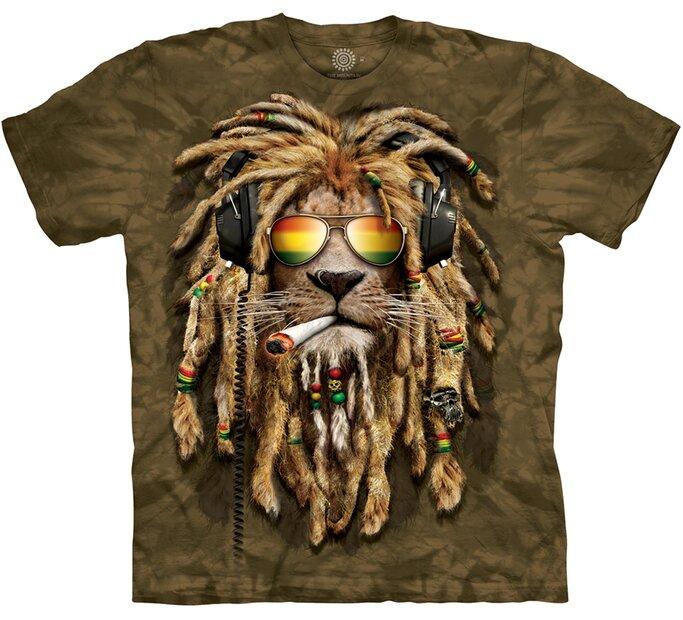 Tričko s krátkym rukávom Smokin' Jahman