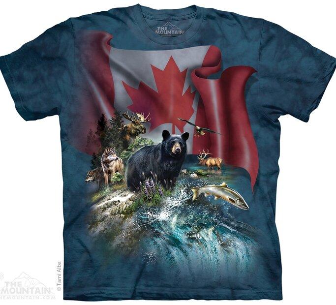 Tričko Kanadská krása