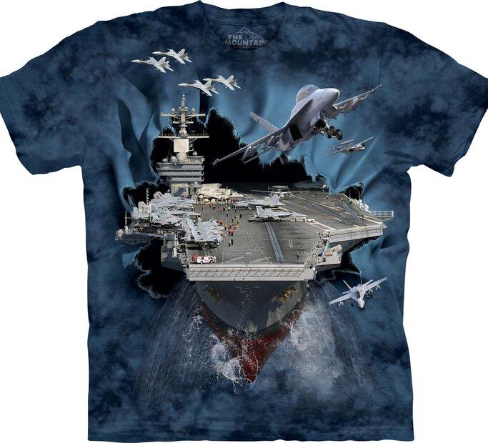 Tričko Letadlová loď