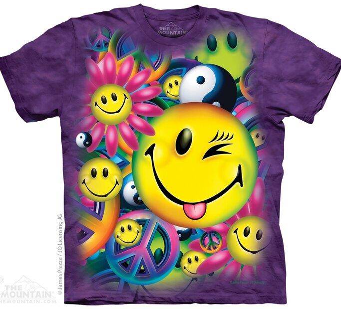T-Shirt Frieden und Freude
