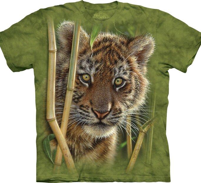 T-Shirt Tiger Jungtier