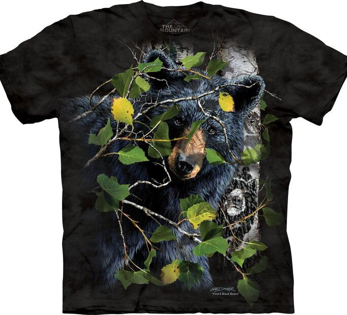 Tričko Najdi 8 medvědů