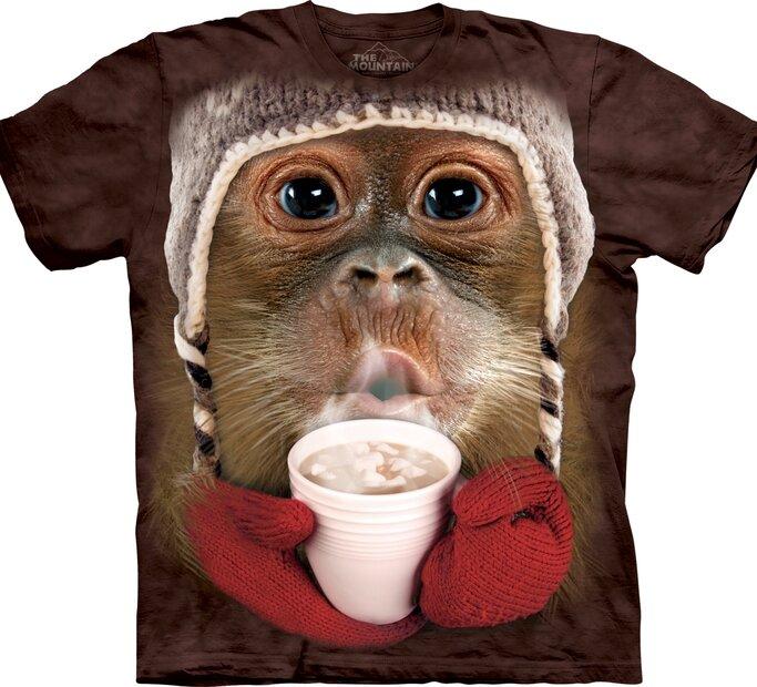 T-Shirt Orangutan mit Kakao