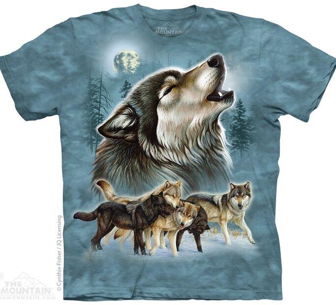 Ősi farkasok póló