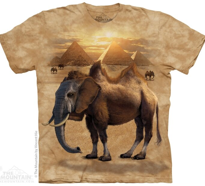 T-Shirt Kamelefant