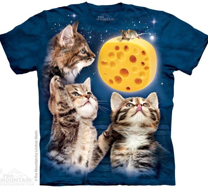 Három macska és a sajt póló