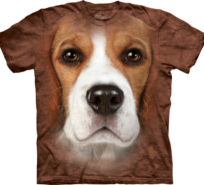 T-Shirt Beagle Gesicht