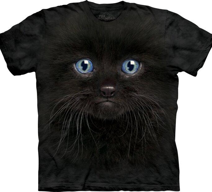 Black Kitten Face Adult