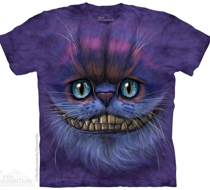T-Shirt Cheshire Cat von Alice im Wunderland