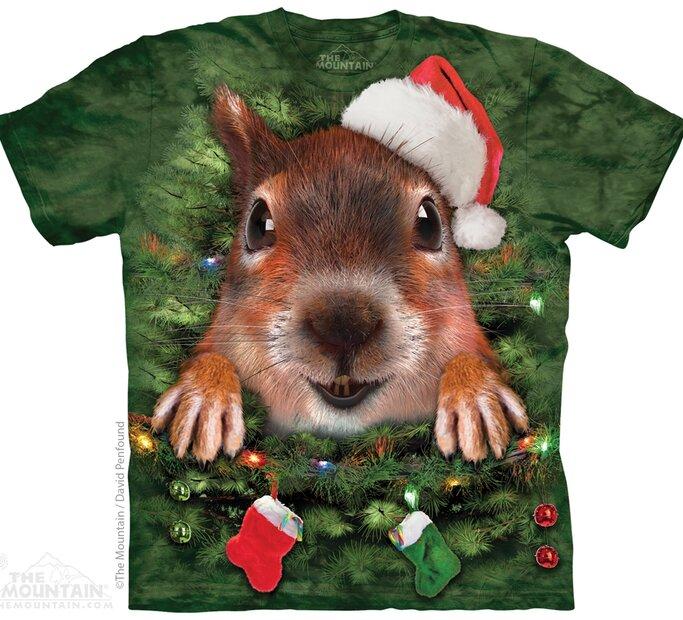 Xmas Tree Squirrel Adult Med