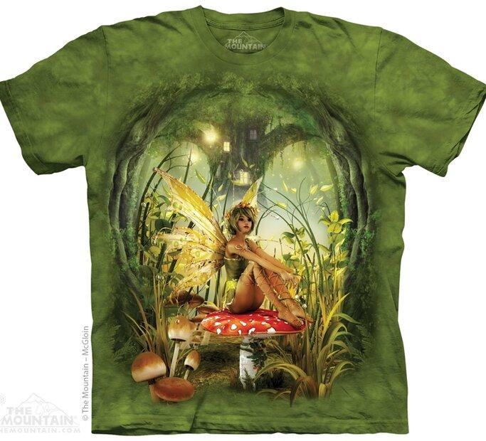 Tričko Víla a muchomůrka