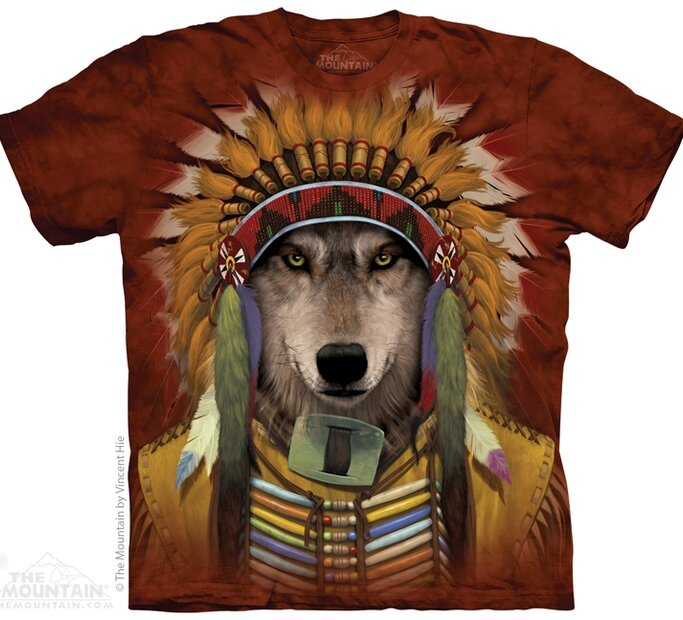 T-shirt Wolf Chief