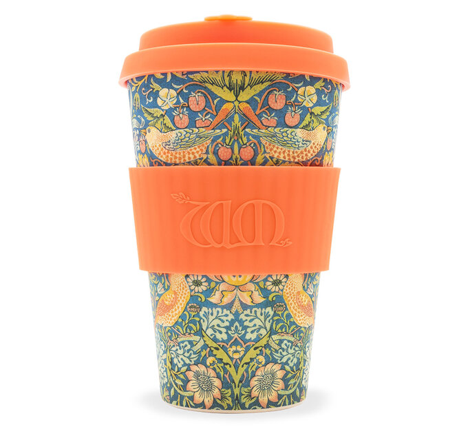 Bambusový ecoffee cup Thief William Morris