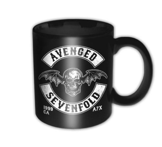 Keramický hrnček Avenged Sevenfold Death Bat Crest