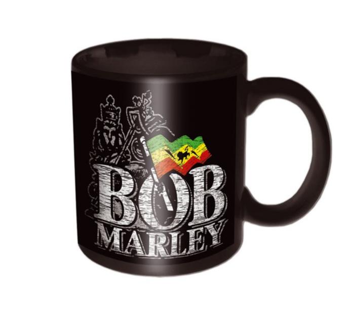 Keramický hrnček Bob Marley Distressed Logo