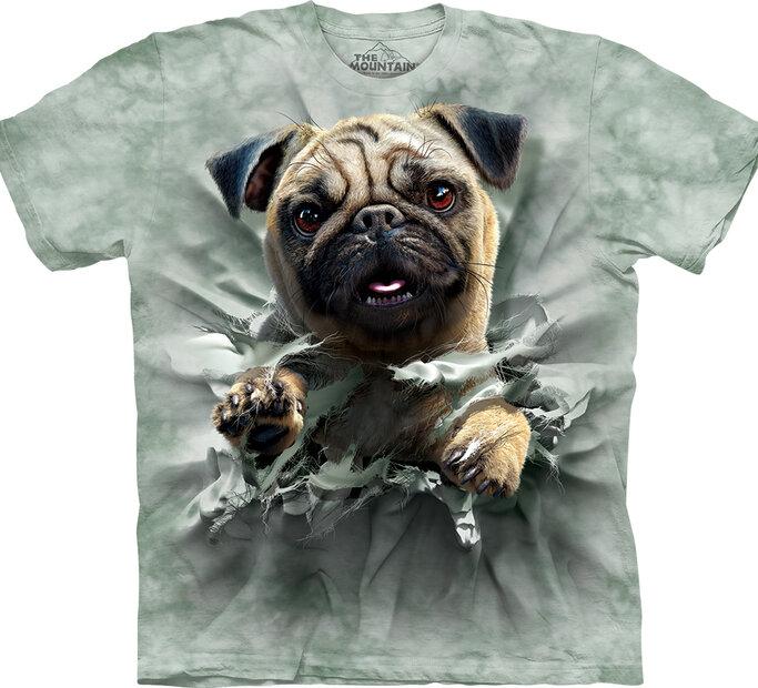T-Shirt Mops im Einsatz