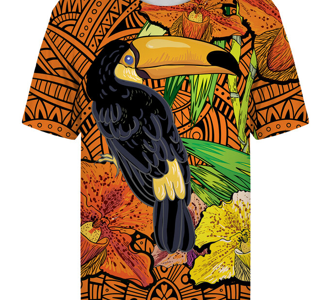 T-shirt with Short SleeveToucan
