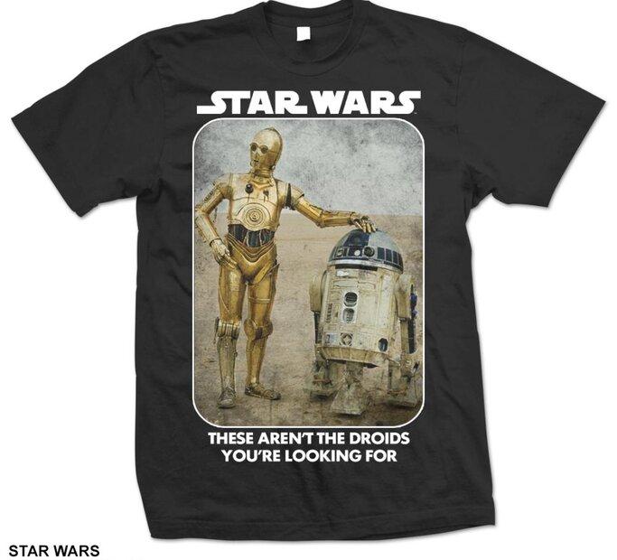 Tričko Star Wars Droids
