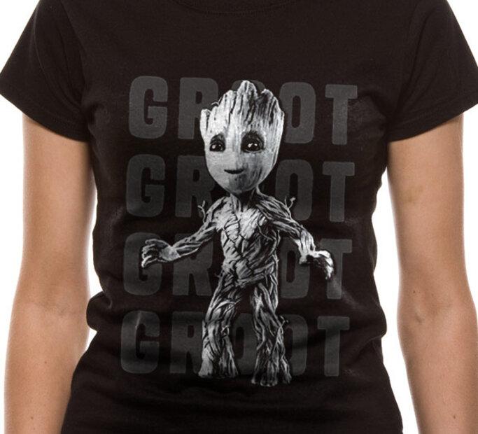 Dámské triko Guardians of the Galaxy Groot