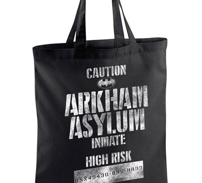 Plátěná taška Batman Arkham Asylum Inmate