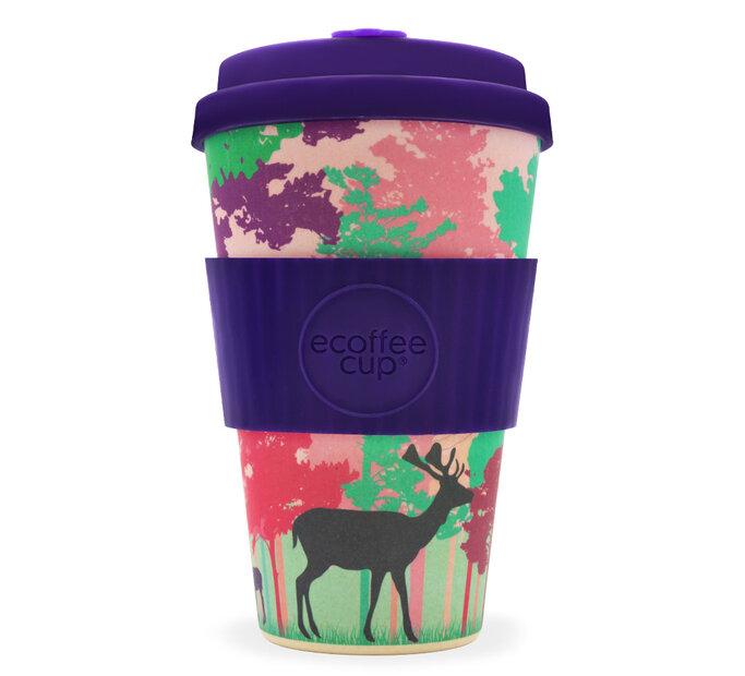 Bambusový ecoffee cup Jeleň