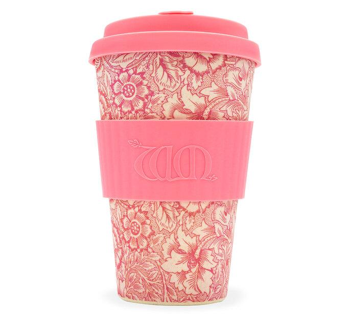 Bambusový ecoffee cup Poppy William Morris