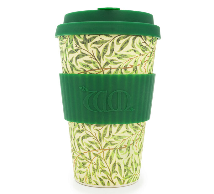 Bambusový ecoffee cup Willow William Morris
