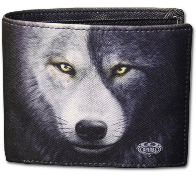 Pánska peňaženka Tvár vlka