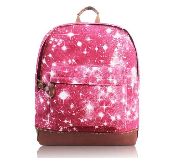 Bordový ruksak s jedným vreckom Hviezdna obloha