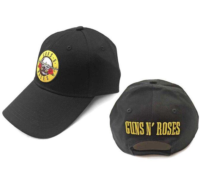 Čierna šiltovka Guns N' Roses Circle Logo