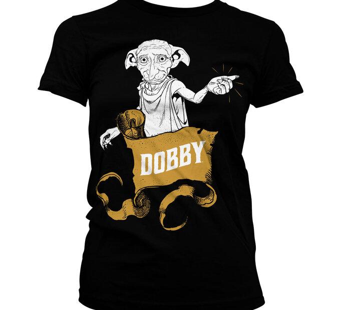 Dámske  tričko Harry Potter Dobby