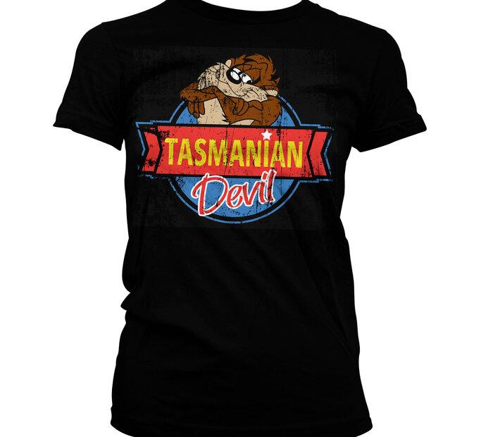 Dámske tričko Tasmanian Devil