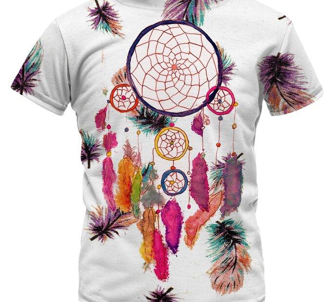 Detské tričko Feathers Dreamcatcher
