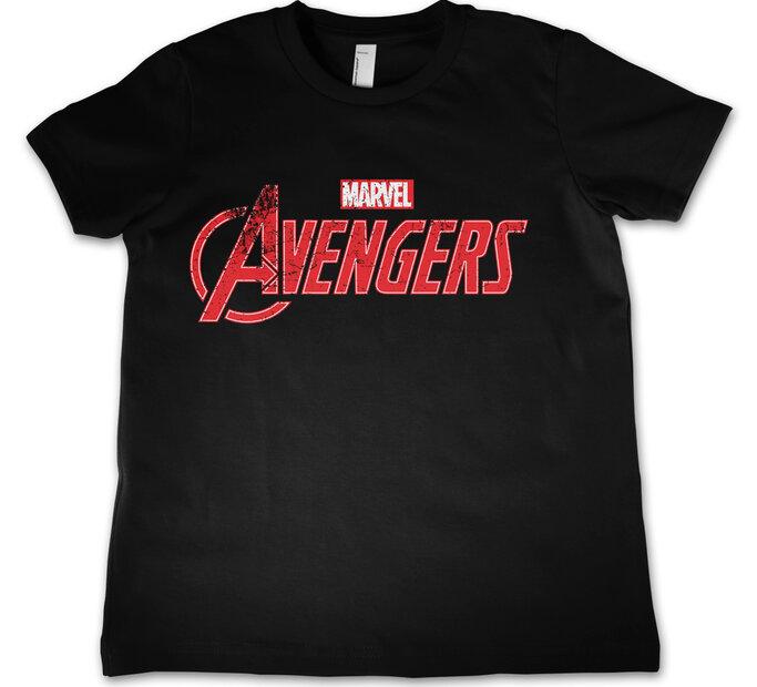 Detské tričko Marvel Comics The Avengers Logo