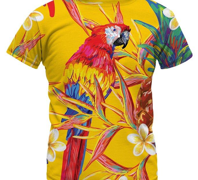 Detské tričko Paradise Parrots