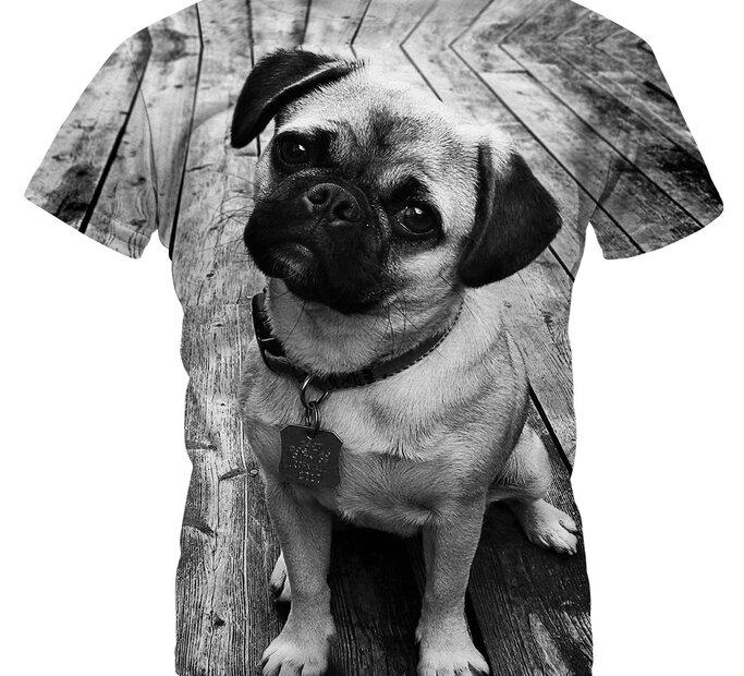 Detské tričko Pug